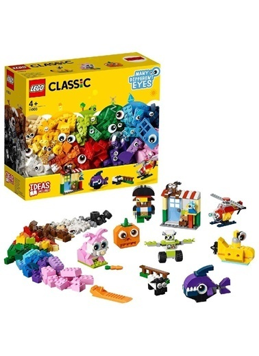 Lego Lego Classic Bricks and Eyes 11003 Renkli